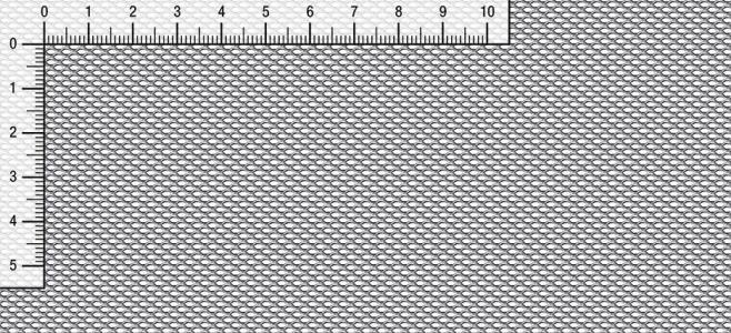Lamiera stirata a maglia esagonale E 3,5